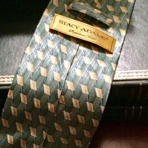 Stacy Adams 100% Silk Hand Made Designer Neck Tie
